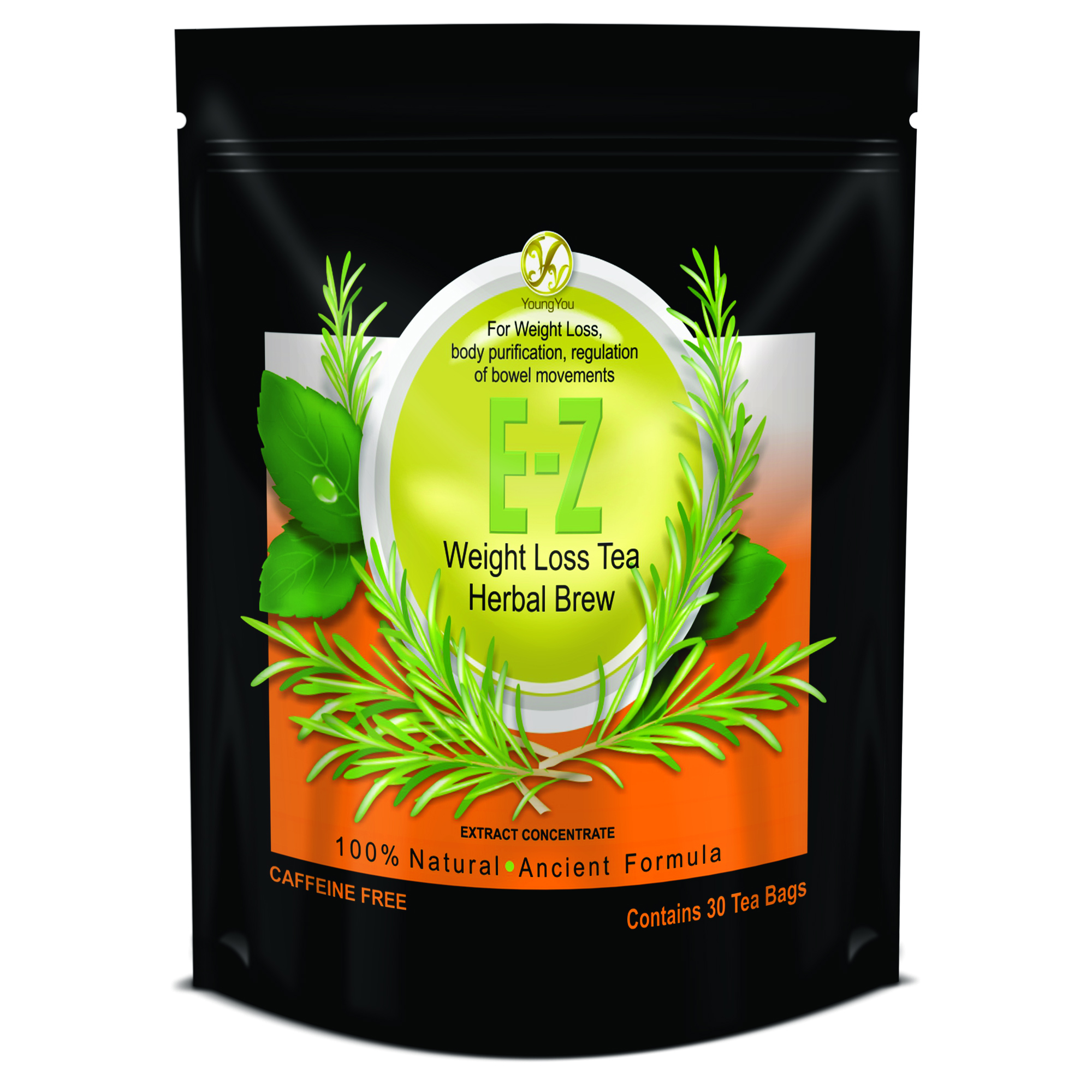E-Z Weight Loss Tea - Appetite Suppressant, Colon Cleanse and Weight Loss