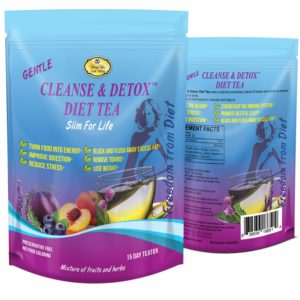 YoungYou Cleanse and Detox Tea. Herbal Weight Loss Tea for Natural Colon Cleanse