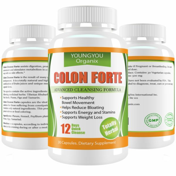 YoungYou Colon Cleanse and Detox. Natural Body Cleanse