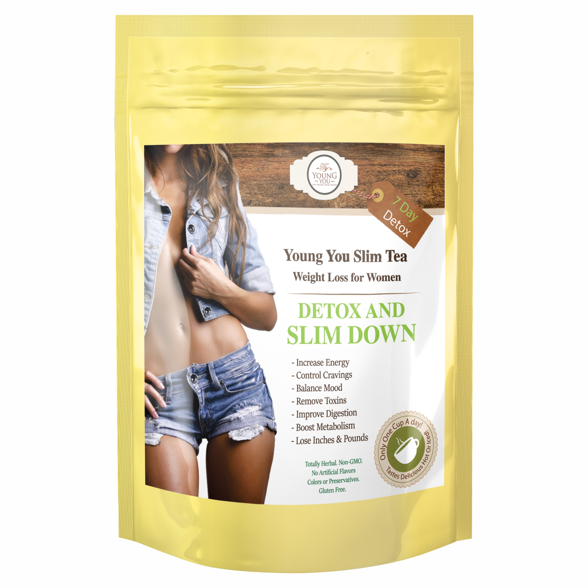 YoungYou Weight Loss Tea. Appetite Suppressant Tea (7-day)
