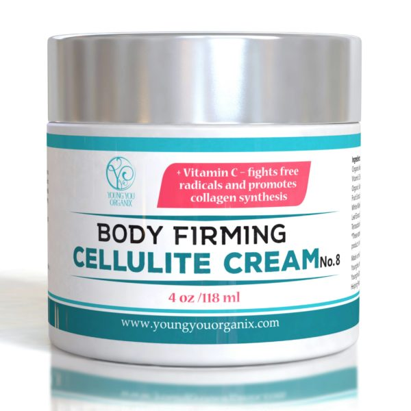 YoungYou Organix Body Firming Anti Cellulite Cream, with high concentrations of vitamin C